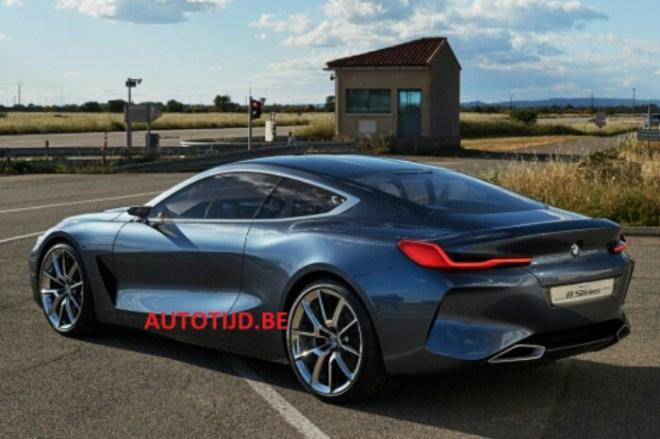Baru Akan Diperkenalkan Besok, Tampang BMW Seri 8 Hari ini Sudah Tersebar di Dunia Maya