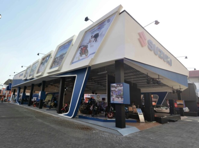 Jajaran Produk Unggulan Suzuki Hadirdi Jakarta Fair Kemayoran 2017