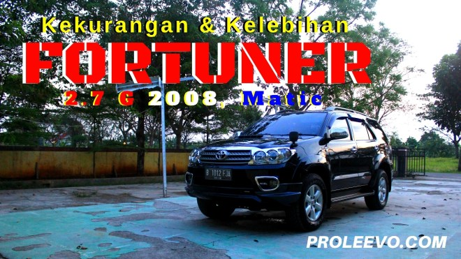 Video: Review Kelebihan dan Kekurangan Fortuner Bensin 2008 Matic