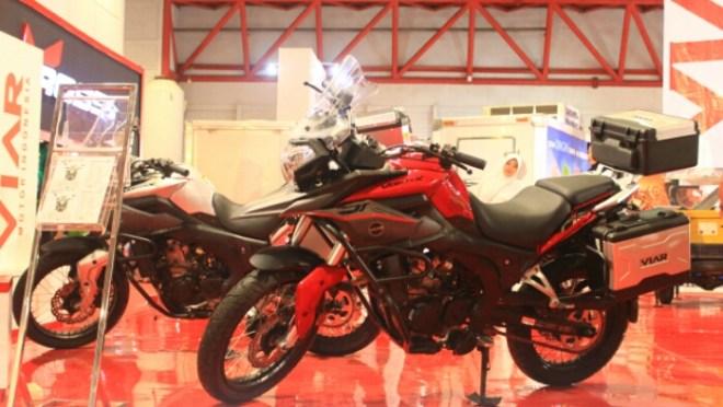 Penantang Kawasaki Versys, Viar Adventure Vortex 250 2017 Harga 40 jutaan