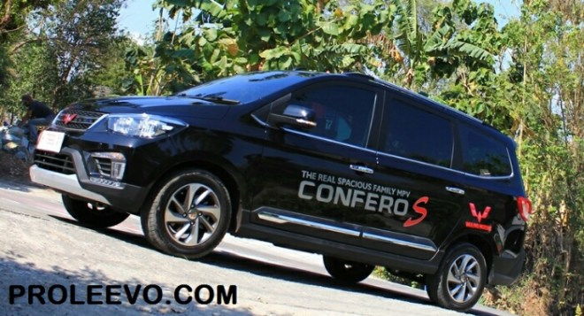 Test Drive & Review Wuling Confero S