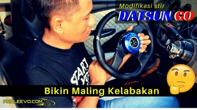 Modifikasi Datsun Anti Maling Ala Mr Bean