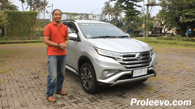 test drive new terios 2018 manual