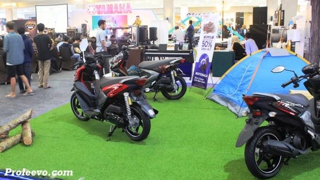 Yamaha Jogja Gelar Bluecore Yamaha Motor Show