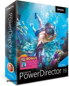 CyberLink PowerDirector 19.1.2407.0 Crack