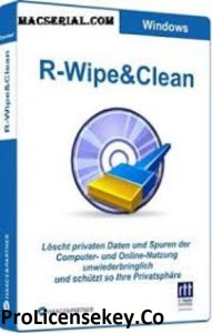 R-Wipe & Clean Crack 20.0 Build 2307 With Patch [2021]