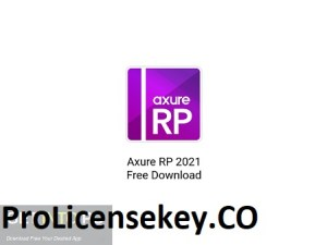 Axure RP 9.0.0.3673 Crack + License key 2021 Free Download
