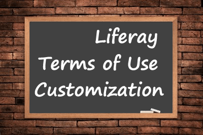 Liferay Terms Of Use Customization   Pro Liferay Liferay Terms Of Use