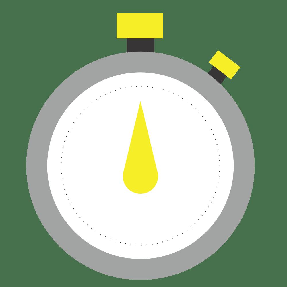 Blue stopwatch