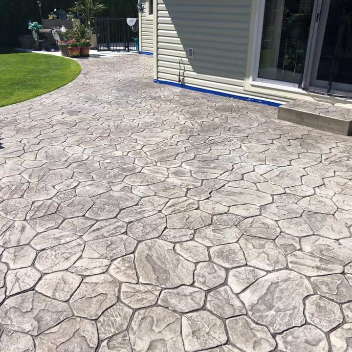 Kamloops Stamped Concrete