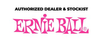 Ernie Ball Logo Prolix Music recommended strings and guitar accessories