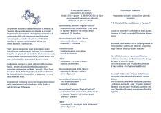 Itinerari Natalizi 2015 nel Centro Storico di Taranto.
