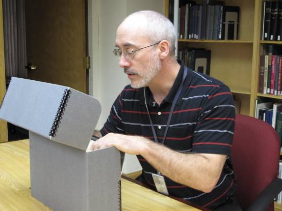 Matthew Schaefer, outreach archivist at the Herbert Hoover Presidential Library and Museum.