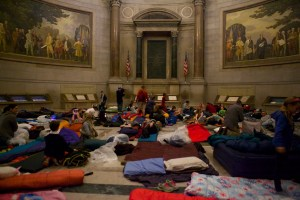 """It's not too late to sign up for the Rotunda sleepover on August 2! """"Explorers Night"""" will feature activities that take campers to the Arctic, Outer Space, and the American West."""