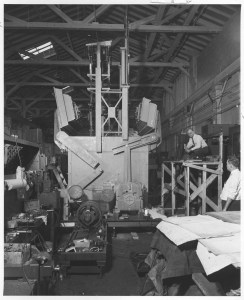Mosler Safe being constructed, 1952. (National Archives Identifier 12167779)