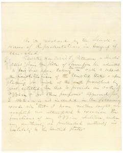 SR 144, 39th C--Joint Resolution re David Patterson (SEN 39A-B3)