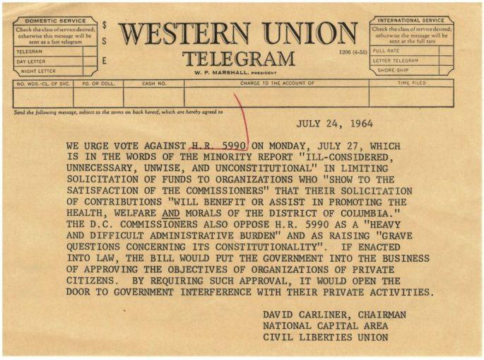 Telegram in Opposition