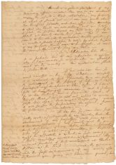 """Alexander Hamilton's """"Statement of My Property and Debts, with Remarks,"""" July 1, 1804. (National Archives Identifier 306690)"""