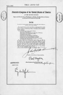Public Law 90-363 Monday Holidays