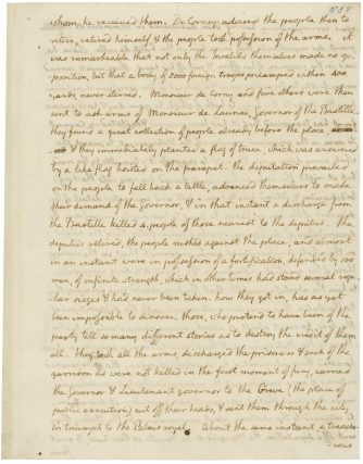 Page 7 of a letter from Thomas Jefferson to John Jay, 7/19/1789. (National Archives Identifier 783912)