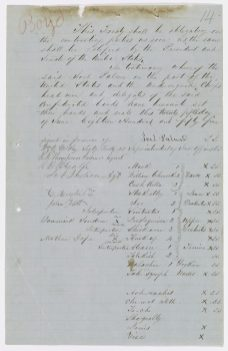 Treaty Between the United States and the Walla Walla and Wasco Indians (Confederated Tribes and Bands in Middle Oregon) Signed Near the Dalles of the Columbia River, Oregon Territory, 6/25/1855. (National Archives Identifier 101784642)