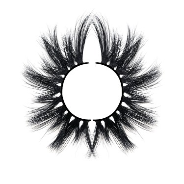 A pair of mink lashes and they peresent Siberia Mink Eyelashes Meaning