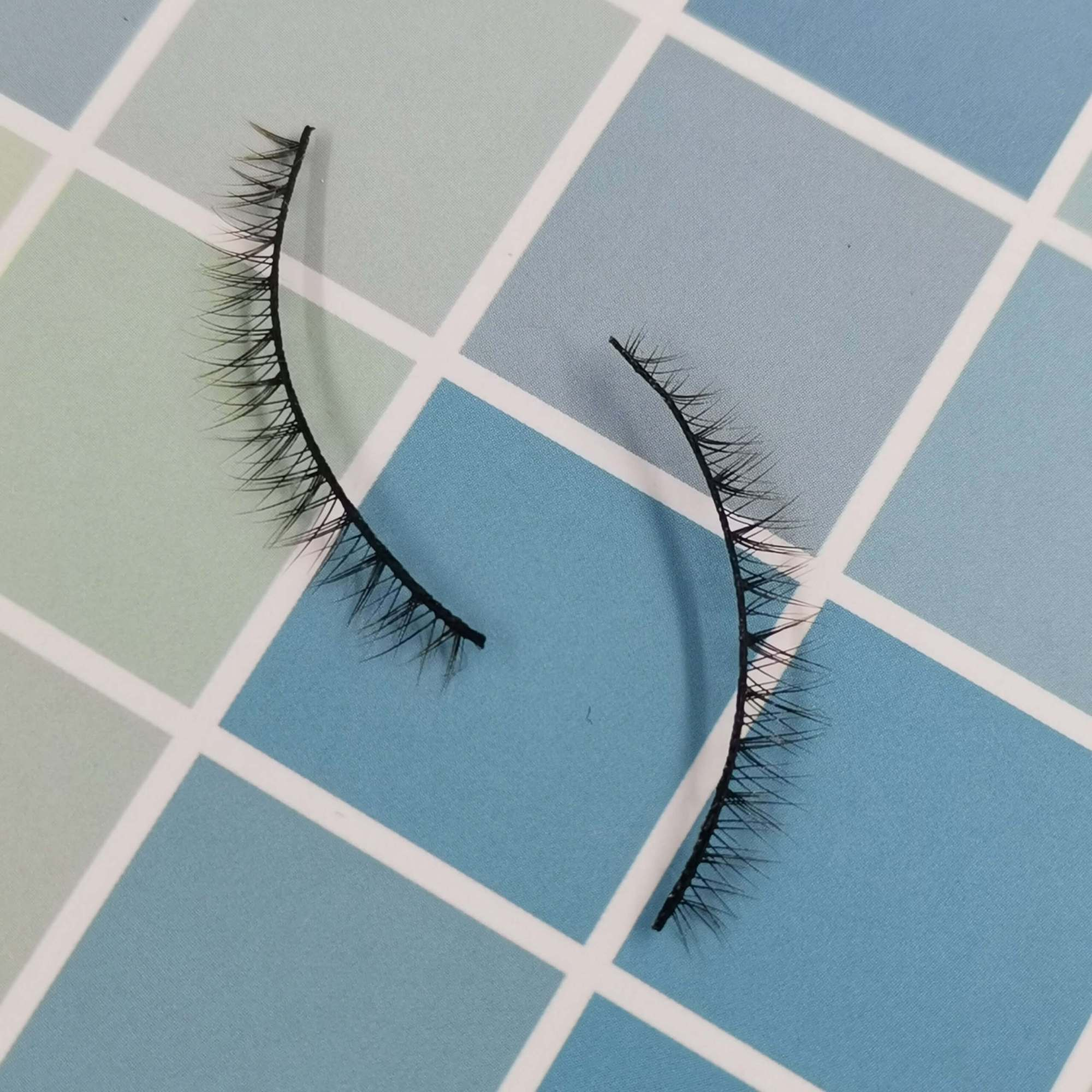 A pair of bottom eyelashes for your eye shape and its model is x003. Trust me, ProluxuryLashes brand is the best eyelash supplier