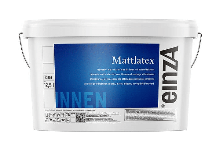 einzA Mattlatex 12,5l