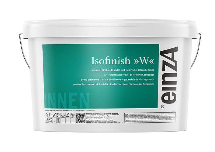 einzA Isofinish W Isolierfarbe 12,5l Raucherfarbe - Nikotinfarben