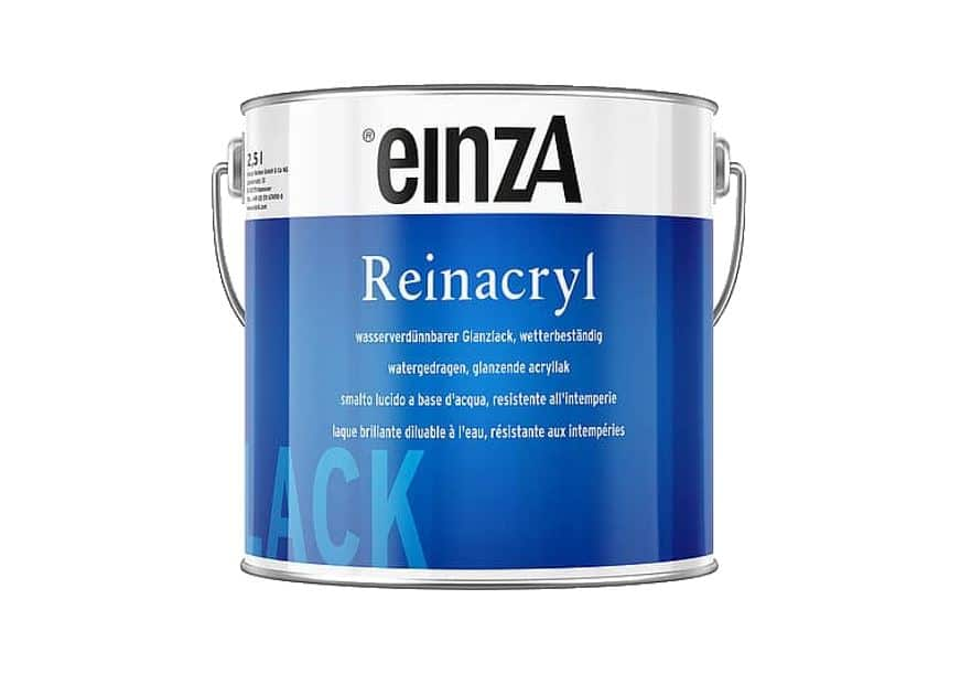 einzA Reinacryl Glanzlack 750ml weiß