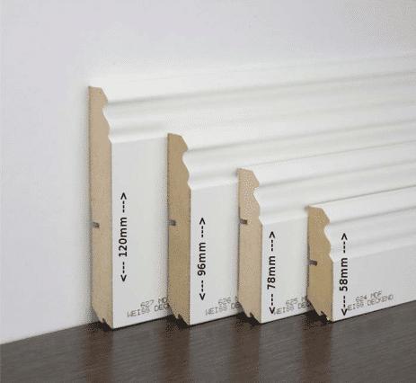 Sockelleiste Berliner Profil