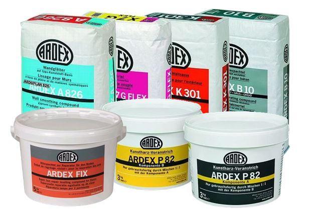 Ardex Produkte
