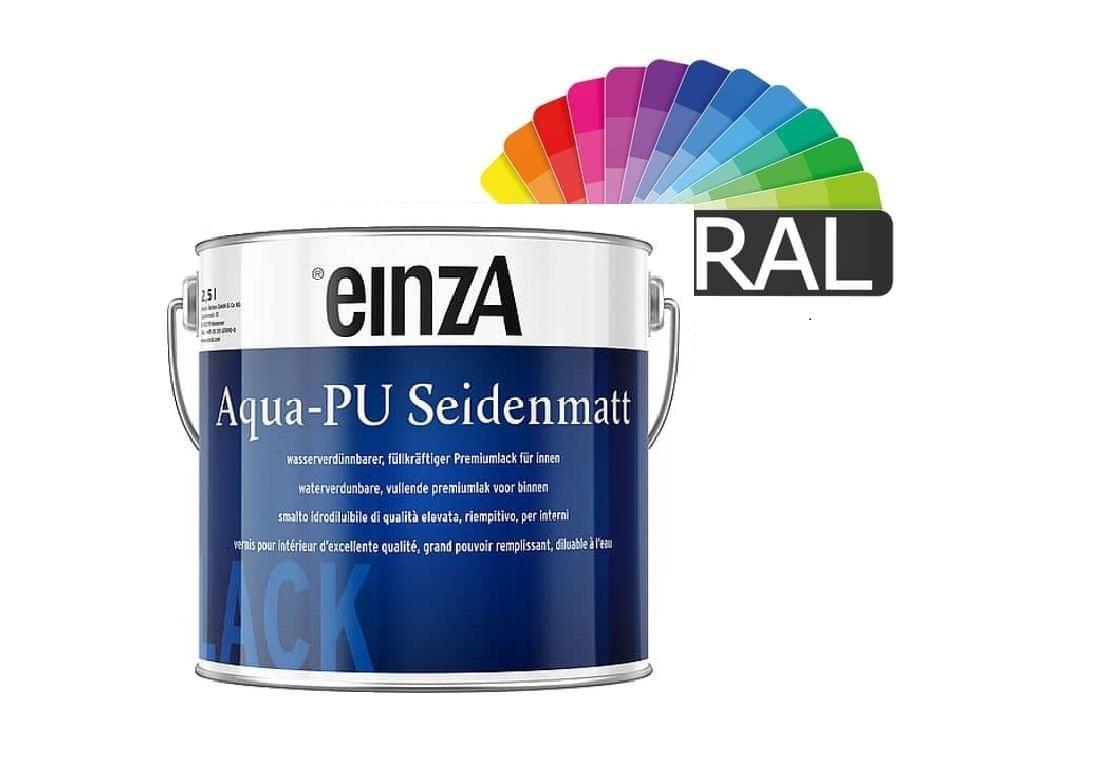 Aqua PU Seidenmatt 3 L Wunschfarbton