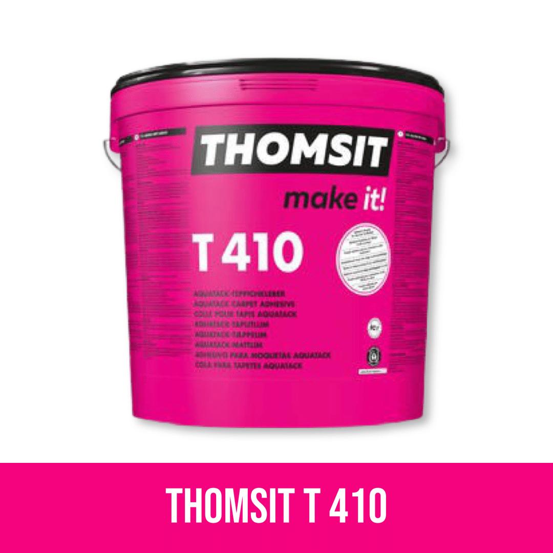 THOMSIT T 410 AQUATACK KRAFTVOLLER TEPPICHKLEBER 15 KG