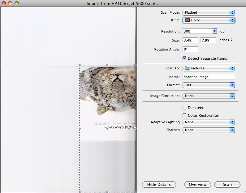 Scanning in Snow Leopard with HP All In One Printer | Pro Mac NYC