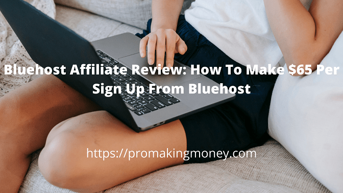 Bluehost Affiliate Review: How To Make $65 Per Sign Up From Bluehost