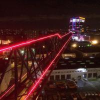 Конутрное освещение башенных кранов