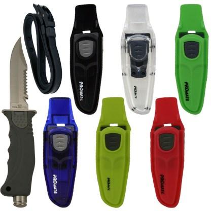 Sharp Tip Diving Knife (4 3/8 In Blade)