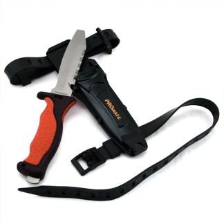 Blunt Tip Titanium Diving Knife (4 3/8 In Blade)