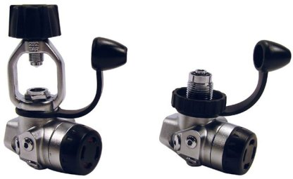 Storm-Ice Nitrox Diaphragm 1st Stage Regulator (DIN Available)