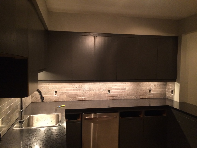 kitchen lighting; task lighting; residential wiring; kitchen renovation; residential electrical;