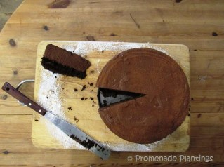 Home Chestnut Mousse Cake
