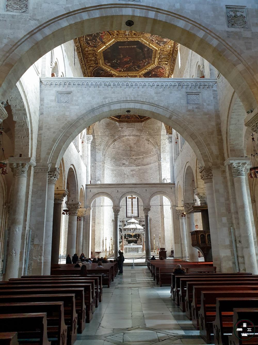 Intérieure de la Basilique Saint Nicolas