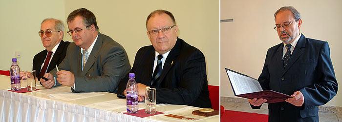 Na fotografiách zľava doprava Ivan Poliak, Roman Hradecký, Marián Baťala a Igor Šabek