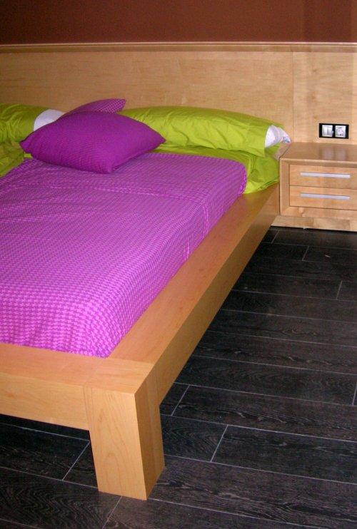 Promida llit capçal amb tauletes 3