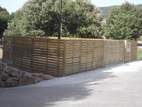 Promida tanca centre reciclatge