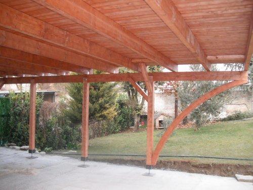 Promida estructura porxo per cotxes
