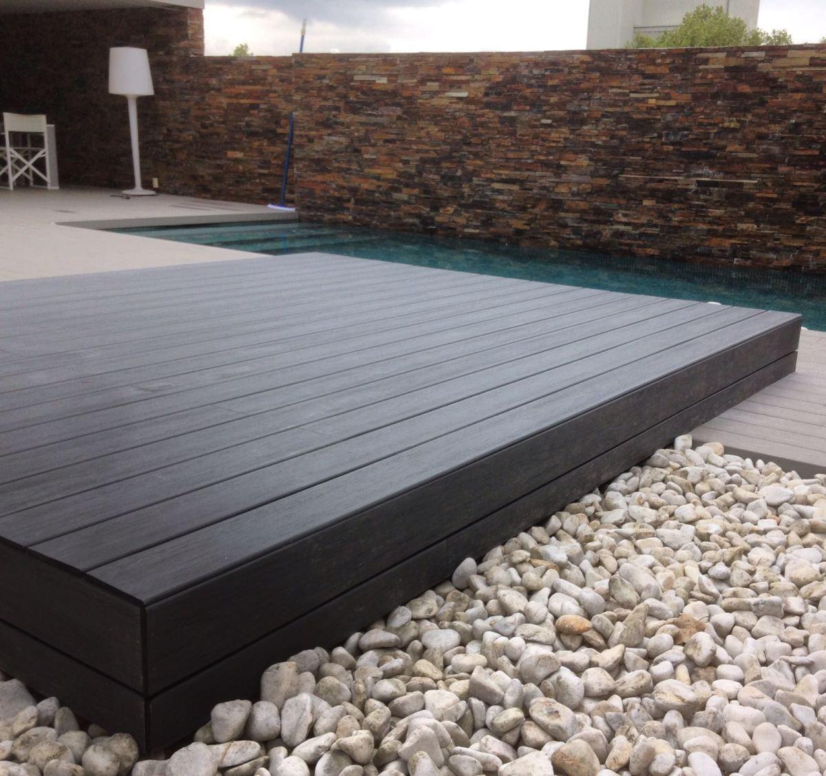 Promida tarima exterior Thimbertech piscina
