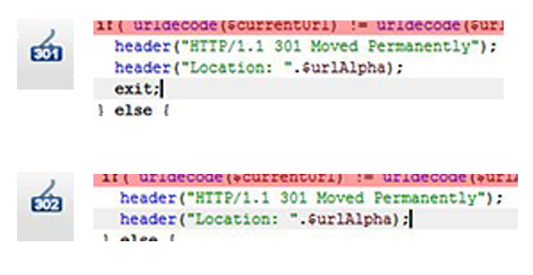 PHP Headers: 301 redirect vs 302 redirect | Brian Prom Blog