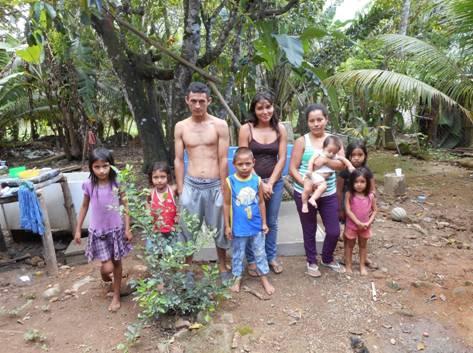 Promise Home team builds pila for Family of 9